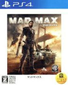 【中古】 マッドマックス WARNER THE BEST /PS4 【中古】afb
