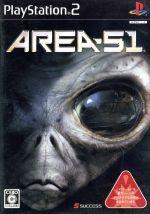 【中古】 AREA−51(エリア 51) /PS2 【中古】afb