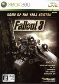 【中古】 Fallout 3 GAME OF THE YEAR EDITION /Xbox360 【中古】afb