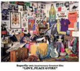 【中古】 Superfly 10th Anniversary Greatest Hits『LOVE,PEACE&FIRE』(通常盤) /Superfly 【中古】afb