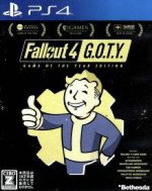 【中古】 Fallout 4 GAME OF THE YEAR EDITION /PS4 【中古】afb