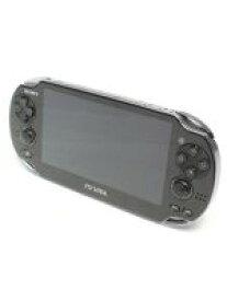 【中古】 【箱説なし】PlayStation Vita 3G/Wi−Fiモデル:クリスタル・ブラック(PCH1100AA01) /本体(携帯ゲーム機) 【中古】afb