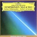 【中古】 ブラームス:交響曲第2&3番 /ヘルベルト・フォン・カラヤン,ベルリン・フィルハーモニー管弦楽団 【中古】…