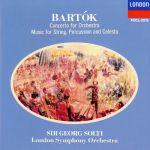 【中古】 バルトーク:管弦楽のための協奏曲 /ゲオルグ・ショルティ 【中古】afb