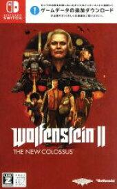 【中古】 ウルフェンシュタイン II:ザ ニューコロッサス /NintendoSwitch 【中古】afb