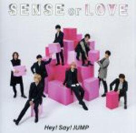 【中古】 SENSE or LOVE(通常盤) /Hey! Say! JUMP 【中古】afb