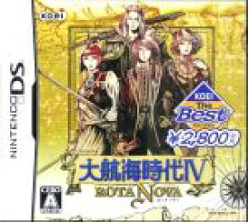 【中古】 大航海時代IV ROTA NOVA KOEI The Best /ニンテンドーDS 【中古】afb