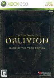 【中古】 The Elder Scrolls IV:オブリビオン GAME OF THE YEAR EDITION /Xbox360 【中古】afb