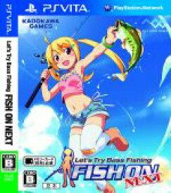 【中古】 Let's try Bass Fishing FISH ON NEXT /PSVITA 【中古】afb
