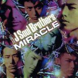 【中古】 MIRACLE(DVD付) /三代目 J Soul Brothers from EXILE TRIBE 【中古】afb