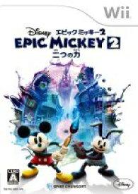 【中古】 ディズニー エピックミッキー2 : 二つの力 /Wii 【中古】afb