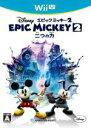 【中古】 ディズニー エピックミッキー2 : 二つの力 /WiiU 【中古】afb