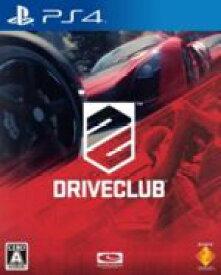 【中古】 DRIVECLUB /PS4 【中古】afb