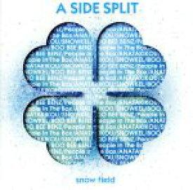 【中古】 A SIDE SPLIT Vol.3〜snow field〜 /(オムニバス),BOO BEE BENZ,People In The Box,ANATAK 【中古】afb