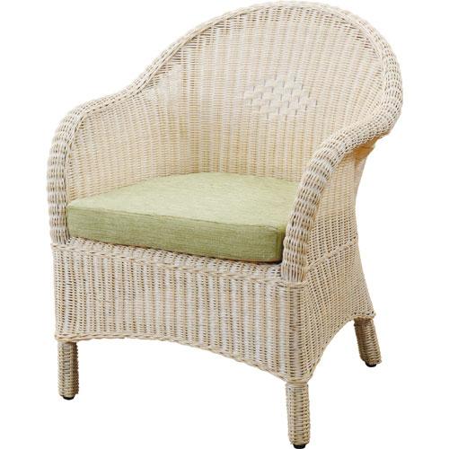 送料無料 1人掛け籐ソファ 幅65cm ホワイト y130 籐家具 籐 ラタン家具 ラタン ラタン製 椅子 チェア ソファー ソファ 一人掛け 1人 ソファチェア 一人がけチェア 一人掛けソファー 1人掛けチェア 一人がけ椅子 藤の椅子 一人椅子 一人掛け椅子 籐椅子 ラタンチェア 肘付き