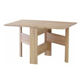 ダイニングテーブル 木製 折りたたみ 収納 フィーカ 幅120cm 木製ダイニングテーブル 折りたたみテーブル 折り畳みテーブル コンパクト テーブル つくえ 机 折り畳み ダイニング 食卓テーブル 食卓 省スペース 2人掛け 4人掛け シンプル キッチンテーブル fik-103na