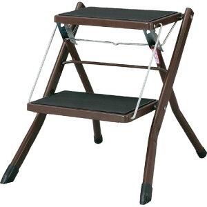 完成品 折りたたみ 脚立 シンプル 踏み台 ステップ台 折りたたみ脚立 アシスタ ブラウン ステップ 簡易椅子 ふみ台 台 折りたたみステップ 折り畳み 作業 子供 折りたたみ式踏み台 掃除 梯子