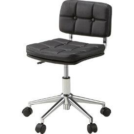 デスクチェア キャスター付き 高さ調節 合皮 肘無し ブラック いす イス 椅子 チェア チェアー キャスター 昇降式 ソフトレザー 合成皮革 合皮レザー デスクチェアー 背もたれ付き 学習椅子 事務椅子 シンプル 勉強椅子 パソコンチェア カウンターチェア rkc-301bk
