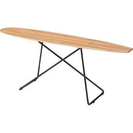 完成品 サイドテーブル おしゃれ アンティーク 北欧 インテリア スケートボードテーブル 幅117cm ソファサイドテーブル ベッドサイドテーブル ナイトテーブル 飾り棚 ディスプレイラック ソファテーブル ベッドテーブル 雑貨置き 小物置き リビング テーブル sf-200