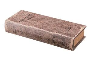 壁掛けシークレット引き出しボックス(アンティーク調ブック型)