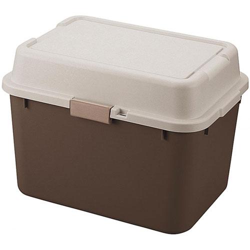 収納ボックス(コンテナ) ルームパック 幅62cm ブラウン【6個組】 room620br