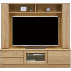 壁面テレビ台 バイオレット 幅170cm高さ160cm ナチュラル