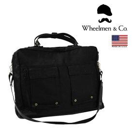 【並行輸入品】 WHEELMEN & CO. ホイールメン 2WAY SMITHSTON CARRY ALL ブリーフケース ビジネスバッグ メンズ