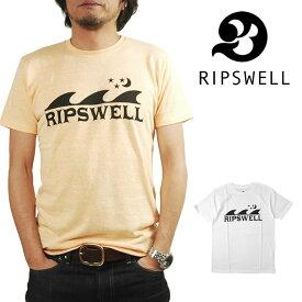 RIPSWELL リップスウェル プリント 半袖 Tシャツ メンズ