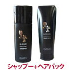 黒染シャンプー(200mL)+黒染ヘアパック200ml[シャンプー椿油]【送料無料】