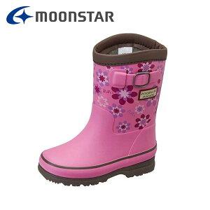 ムーンスター MoonStar ヒロミチナカノ hiromichi nakano HN WC181R キッズレインブーツ レインブーツ 子供用長靴 女の子 防水 雪