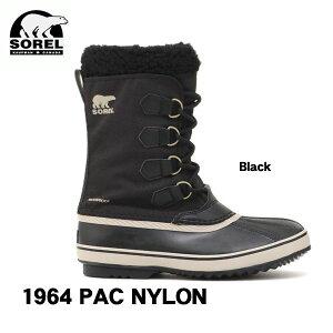 ソレル スノーブーツ 1964パック ナイロン SOREL 1964 PAC NYLON NM3487 ウィンターブーツ 男性用 冬靴 防寒ブーツ スノトレ 日本正規品