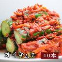 【大盛り・業務用】栄養士が作っている【野菜キムチ】オイキムチ(キュウリのキムチ) 1/2本サイズ10本(1kg)【一部送…
