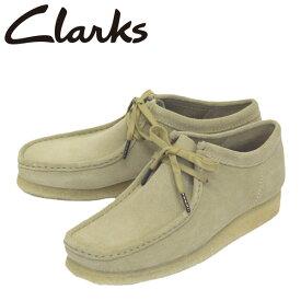 正規取扱店 Clarks (クラークス) 26155515 Wallabee ワラビー メンズ スエードシューズ Maple Suede CL037