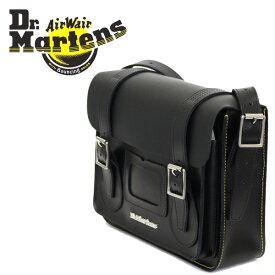 正規取扱店 Dr.Martens (ドクターマーチン) AB097001 11インチ Leather Satchel Bag レザーサッチェルバッグ BLACK KIEV