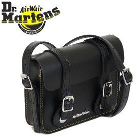 正規取扱店 Dr.Martens (ドクターマーチン) AB098001 7インチ Leather Satchel Bag レザーサッチェルバッグ BLACK KIEV