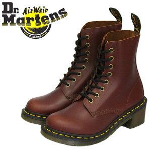 正規取扱店 Dr.Martens (ドクターマーチン) 26977203 CLEMENCY 8EYE クレメンシー レディースブーツ BROWN