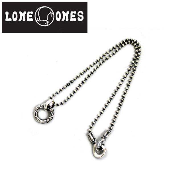 正規取扱店 LONE ONES(ロンワンズ) LINKED CRANE RING with DIAMOND MF BALL CHAIN M