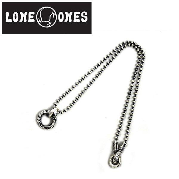 正規取扱店 LONE ONES(ロンワンズ) LINKED CRANE RING with SAPPHIRE MF BALL CHAIN M