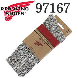 正規取扱店 RED WING (レッドウィング) 97167 Cotton Ragg Socks コットンラグソックス 靴下 ブラック