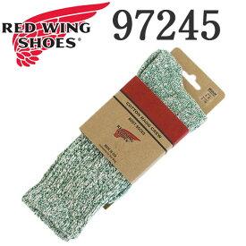 正規取扱店 RED WING (レッドウィング) 97245 Cotton Ragg Socks コットンラグソックス 靴下 グリーン