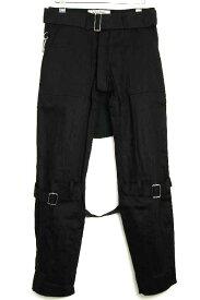 正規取扱店 SEDITIONARIES by 666 (セディショナリーズ) Bondage Trousers(ボンデッジトラウザーズ、ボンテージパンツ) 黒 ブラック STP0001