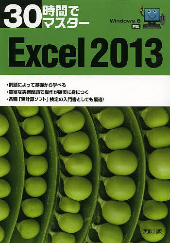 30時間でマスターExcel 2013/実教出版編修部