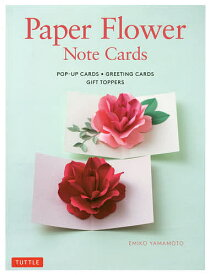Paper Flower Note Cards POP−UP CARDS・GREETING CARDS GIFT TOPPERS/EMIKOYAMAMOTO【3000円以上送料無料】