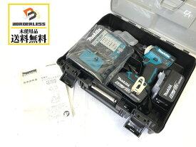 ☆未使用品☆makita マキタ 18V 充電式インパクドライバTD171DRGX 青/ブルー バッテリー2個(18V 6.0Ah) 充電器 ケース付き