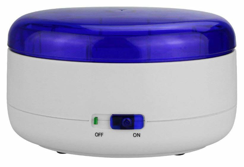超音波洗浄機 メガネ 部分入れ歯 腕時計 ジュエリーなどに ウェーブ クリーナー 乾電池 または USB接続