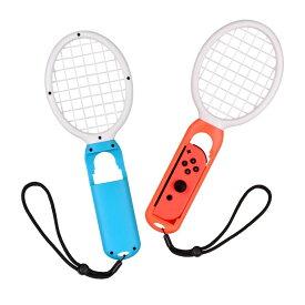 Switch専用 マリオテニス ラケット マリオテニス エース Joy-Con テニスラケット 2個セット スイッチ テニスゲーム対応 ジョイコン コントローラー専用 マリオテニス switch