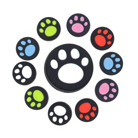 Nintendo Switch Pro/Joy-Con カバー 4個セット スイッチ コントローラー カバー 任天堂スイッチ Joy-Con 可愛い コントローラー用 猫手 肉球