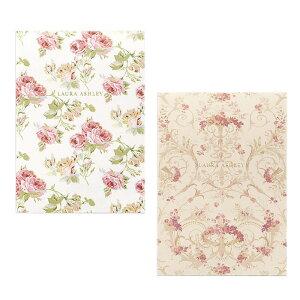 LAURA ASHLEY ローラ アシュレイ A5便箋 クチュールローズ・マルメゾン日本製 薔薇 花柄 ロマンチック おしゃれ 手紙