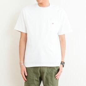 ダントン DANTONクルーネック ポケットTシャツCREW NECK S/S POCKET T-SHIRTJD-9041メンズ トップス Tシャツ 半袖