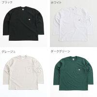 ダントンDANTONクルーネックポケットTシャツ長袖CREWNECKL/SPOCKETT-SHIRTJD-9077メンズトップス